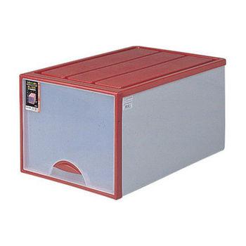 【將將好收納】加長型抽屜整理箱-64L