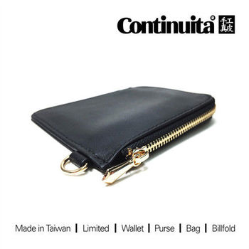 【Continuita 康緹尼】MIT 手工真皮萬用 零錢包/卡包 (6色)