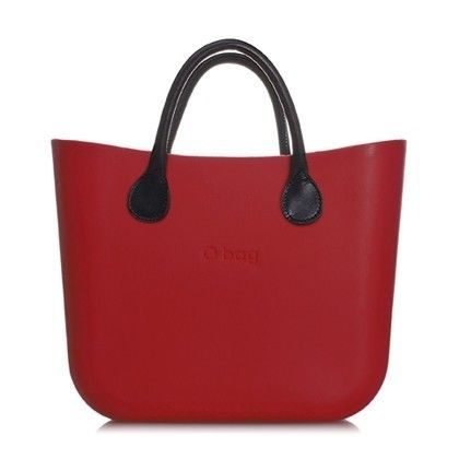 【O Bag】義大利品牌-Mini 簡約公事包 - 聖誕紅