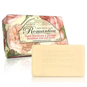 Nesti Dante  義大利手工皂-愛浪漫 生活風系列-佛羅倫斯玫瑰和牡丹(250g) * 2入