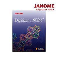 JANOME Digitizer MBX 刺繡設計軟體