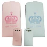 HAPPYMORI SAMSUNG GALAXY S3 寶石皇冠 掀蓋式皮套