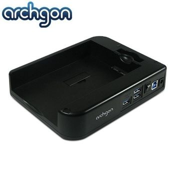 archgon亞齊慷 2.5/3.5吋水平可堆疊式SATA硬碟外接座-MH-3507HUB-U3A