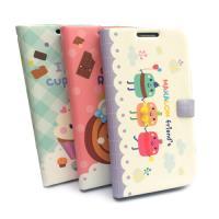 HAPPYMORI SAMSUNG GALAXY J N075 甜點朋友 書本式皮套