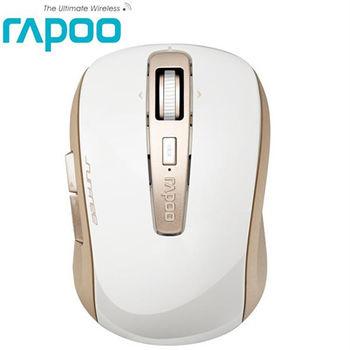 【Rapoo 雷柏 】 3920P 5G無線雷射滑鼠-香檳金