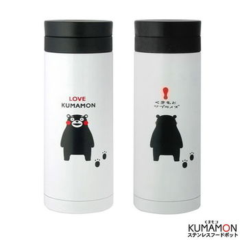 KUMAMON熊本熊茶漏款旋轉蓋保冷保溫杯330ml
