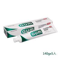 GUM牙周護理牙膏(草本薄荷)140gx5
