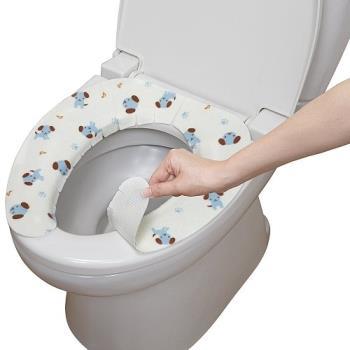 日本製造SANKO兒茶素抗菌防臭馬桶座墊貼(小藍狗)