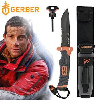 Gerber 貝爾求生系列終極半齒半刃固定刀(泡殼) 31-000751