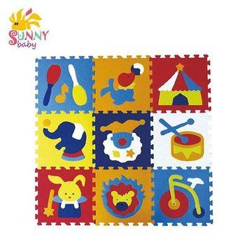 【Sunnybaby生活館】MIT 遊戲爬行地墊-魔術方塊地墊(微笑馬戲團)