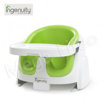 Kids II Ingenuity-二合一寶寶椅(檸檬綠)