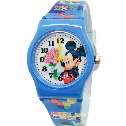 【Disney迪士尼】卡通錶(中) - 害羞米奇