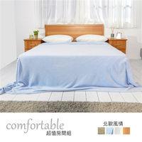 時尚屋 [WG5]貝絲床片型3件房間組-床片+床底+床頭櫃2個1WG5-21G+(3W*2)