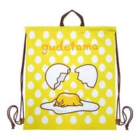 蛋黃哥束口背袋-ㄚ-好累