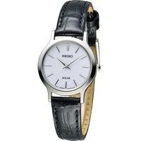 SEIKO 精工 CS系列太陽能簡約時尚腕錶 V115-0BS0S SUP299P1