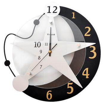 《WASHAMI》 造型掛鐘(星空6036)