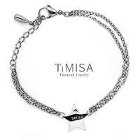 【TiMISA】明星風采 純鈦手鍊