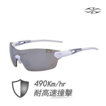 【Sky】專業級防爆運動太陽眼鏡 Raymond平光白
