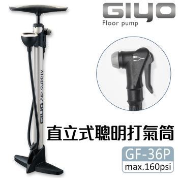 【GIYO】高壓打氣筒(GF-36P)美/法嘴