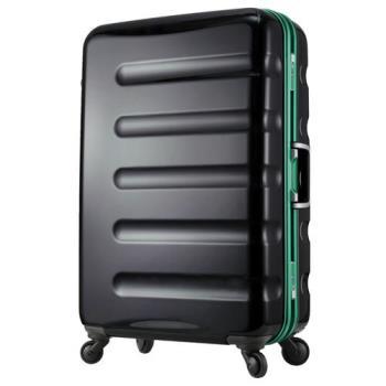 日本 LEGEND WALKER 6016-70-29吋 鋁框輕量行李箱 黑綠