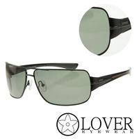 【Lover】精品方框墨綠太陽眼鏡(9119-67-13-120)