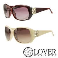 【Lover】精品優雅圓框太陽眼鏡(9304- 兩色選擇)