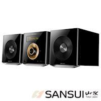SANSUI山水數位式藍芽USB床頭音響組MS-616