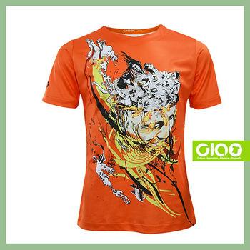 【CIAO TAIWAN】男女款 原創潮流設計T恤 Coolmax吸溼排汗/抗UV衫-思想控制