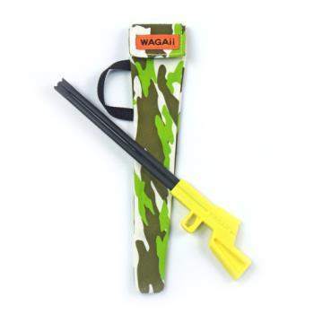 【WAGAii】來福筷 童趣迷彩款 筷子/餐具/環保筷組 黃色