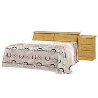 時尚屋 [G16]赤陽木5尺雙人床G16-062-1+059-2不含床頭櫃-床墊