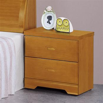 時尚屋[G16]威爾特1.7尺樟木床頭櫃G16-057-5