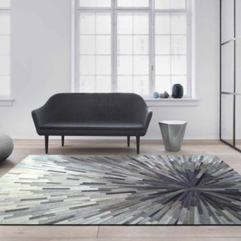 【范登伯格】印度手工牛皮地毯-放射-200x290cm