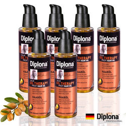 【德國Diplona Profi專業級】Argan摩洛哥堅果護髮油100ml(6入團購組)