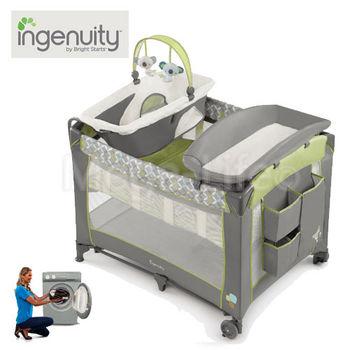 Kids II Ingenuity-四合一可拆洗豪華遊戲床