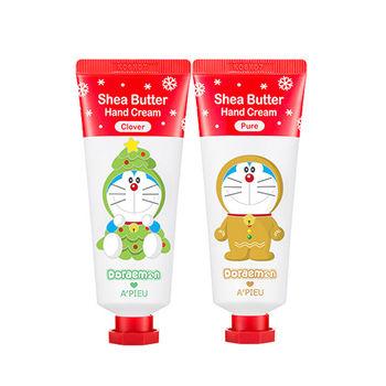 韓國 APIEU 哆啦A夢聖誕系列乳木果油柔滑護手霜(35ml)