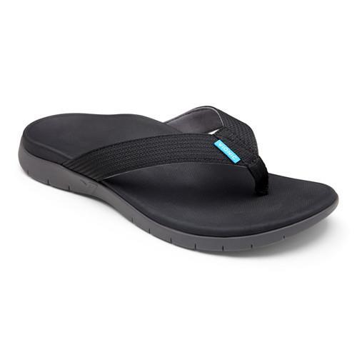 【美國VIONIC法歐尼】健康美體時尚鞋 Islander-愛斯蘭登 男生款(黑)