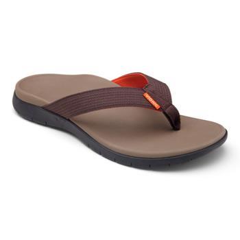 【美國VIONIC法歐尼】健康美體時尚鞋 Islander-愛斯蘭登 男生款(咖啡)