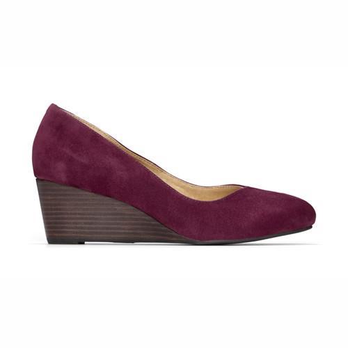 【美國VIONIC法歐尼】健康美體時尚鞋  Antonia-安東妮雅(酒紅色)