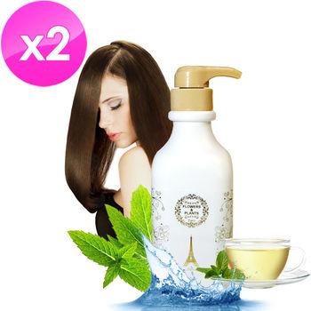 【愛戀花草】控油調理 綠茶草本洗髮精 500MLx2