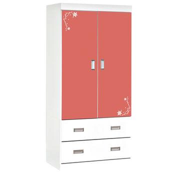 【時尚屋】[G16]花語3x6尺衣櫃G16-093-1可選色