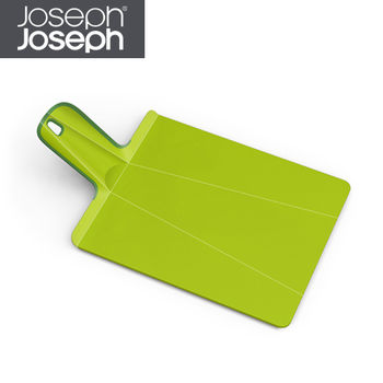《Joseph Joseph英國創意餐廚》輕鬆放砧板(小綠)-NSG016SW