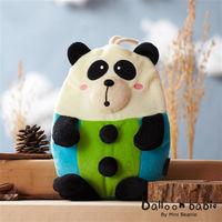 Balloon Babie 熱水袋熱敷袋_紳士熊貓Panda(氣球寶寶)-行動