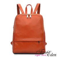 DF Flor Eden - 韓版首爾時尚質感皮革後背包-共2色