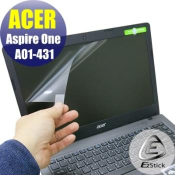 【EZstick】ACER Aspire One Cloudbook 14 AO1-431 專用 靜電式筆電LCD液晶螢幕貼 (鏡面螢幕貼)