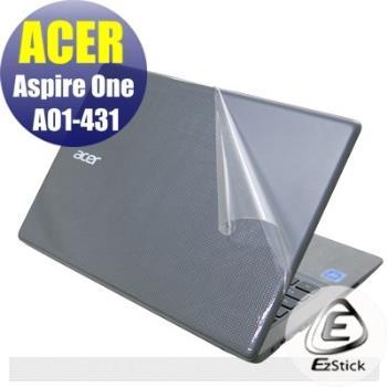 【EZstick】ACER Aspire One Cloudbook 14 AO1-431 系列專用 二代透氣機身保護膜 (DIY包膜)