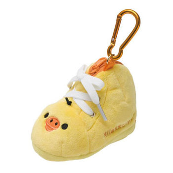 San-X 拉拉熊簡單生活系列鞋子造型毛絨零錢包 (S) 小雞