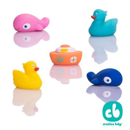 Creative Baby 創寶貝-水上樂園噴水洗澡玩具(Great Lakes Bath Squirt Toys)