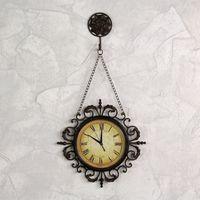 【協貿】創意藝術田園靜音復古裝飾掛鐘