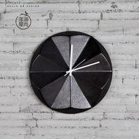 【協貿】現代簡約個性陶瓷客廳臥室時尚創意掛鐘