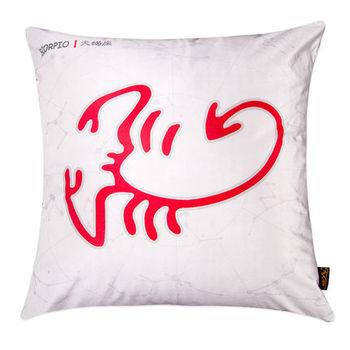 【協貿】時尚簡約休閒可愛創意十二星座之天蠍座抱枕含芯